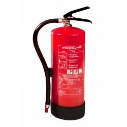 Brandblusser poeder 6 kg.