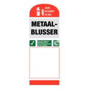 Metaal brandblussers (2)