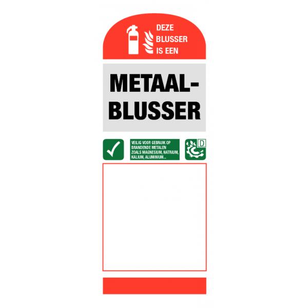 Metaal blusser